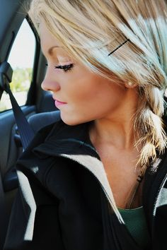 maybe i can do this with my hair i think its the same length