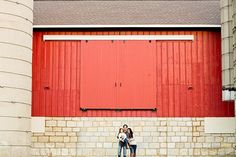 A red barn makes for the perfect fall backdrop. #familyphotos  Cassandra Photo | Fine Art Photographer | Lifestyle Portraits