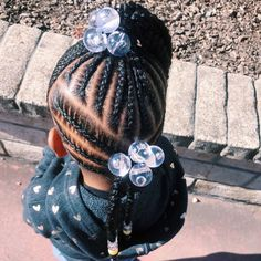 Hairstyles For Kids Black Birthday - Hairstyles Little Girls Natural Hairstyles, Lil Girl Hairstyles, Natural Hairstyles For Kids, Kids Braided Hairstyles, Natural Hair Styles, Toddler Hairstyles, Black Hairstyles, Toddler Braids, Braids For Kids