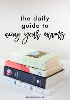 The best way to do well on an exam is to start studying early, and these daily habits will help you get those A's you want! College student test prep tips.