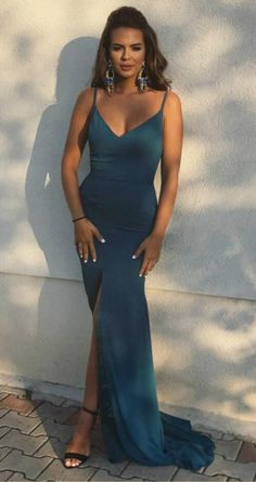 Sexy Sleeveless Prom Dress, Mermaid Prom Dresses with #prom #promdress #dress #eveningdress #evening #fashion #love #shopping #art #dress #women #mermaid #SEXY #SexyGirl #PromDresses