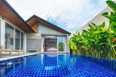 pool villa Layan beach