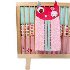 Zutano Owls Diaper Stacker by Kids Line at BabyEarth.com, $17.96