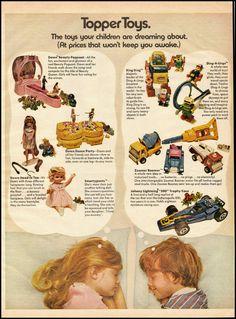 vintage ad for Topper Toys 061212