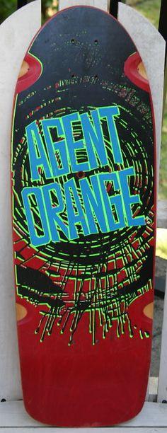 agent-orange board Vision