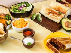 Beef and Bean Burritos Recipe - Food.com