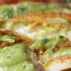 Chili Lime Tilapia with Avocado Crema