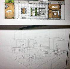 ✍✏ Surrounded with Mountain.  #sketch #handdrawing #floorplan #perspective #interior #design #interiordesign #interiorsketch #kitchen #dining #mountain #architecture #arquitetapage #arquisemteta #papodearquiteto #archisketcher #archihub #flarchitect #mastersketch #iarchitectures #arch_more #ar_sketch #arch_sketcher #archsketch #arqsketch #arquitetura #arquinews #bestsketch #tamainteriordesign #tamasketch