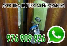 Apertura de puertas blindadas y puertas acorazadas en Zaragoza