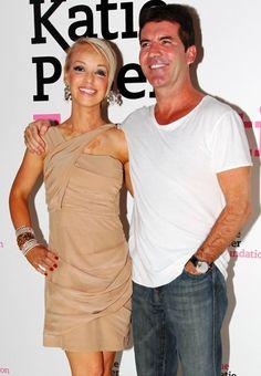 Simon Cowell supports Katie Piper