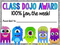 Class Dojo Reward Pack {FREEBIE}