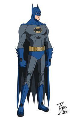Batman: Bruce Wayne by phil-cho on DeviantArt Nightwing, Batgirl, Catwoman, Batman Wallpaper, I Am Batman, Batman Art, Batman Cartoon, Dc Comics Heroes, Marvel Dc Comics