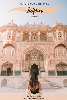 Best places to visit in jaipur / jaipur itinerary #jaipur #travelguide #india