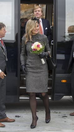 Royals & Fashion - King Willem Alexander and Queen Maxima visited Limburg.