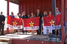 Family of Fallen Military Members Honored at National Cherry Fes - Northern Michigan's News Leader