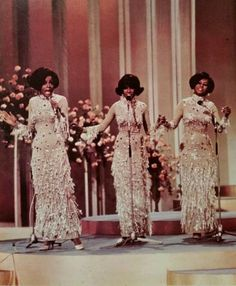 Diana Ross & The Supremes in 1968.