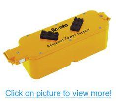 iRobot Advanced Roomba Battery Pack DC 14.4V 3000mAh Ni-MH