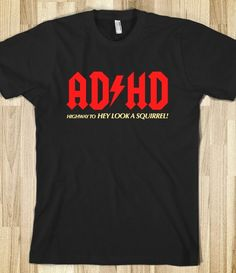 ADHD - expressions - Skreened T-shirts, Organic Shirts, Hoodies, Kids Tees, Baby One-Pieces and Tote Bags Custom T-Shirts, Organic Shirts, Hoodies, Novelty Gifts, Kids Apparel, Baby One-Pieces   Skreened - Ethical Custom Apparel
