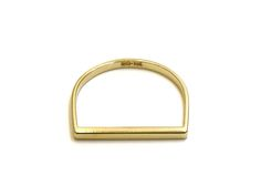gold ring no.14 | recycled 14k gold | handmade in nyc