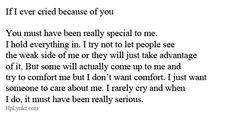 Falling apart when nobody is looking...