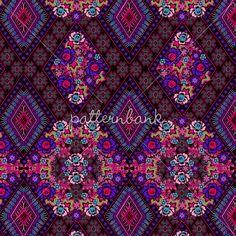 Carrie Aztec Floral Patchwork