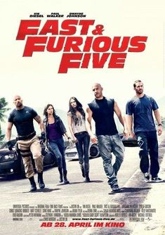 I enjoy all the Fast and Furious movies, especially the cars.