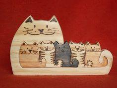 Artesanato Paraty - Artesanato em madeira: Coruja 002 7x12cm 14,00R$