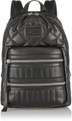 Marc by Marc Jacobs Domo Arigato Biker quilted leather backpack