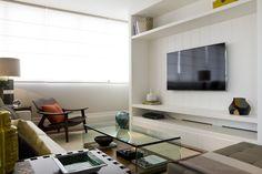 Decoração de interiores no Edifício 360 Graus - Decoradora Marilia Veiga