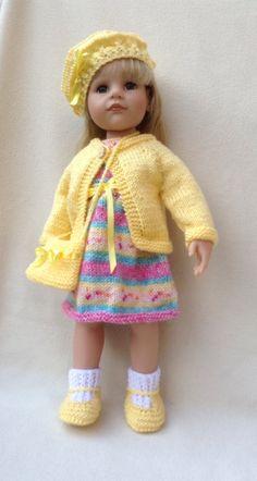 Random Dress Set for 18 inch dolls by UKgr8KNITS on Etsy, £12.99