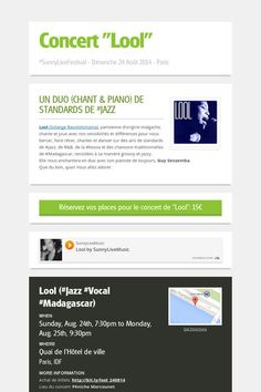 "Concert ""Lool""  > Dimanche 24 août 2014 à 19h30 > Billets ici: http://bit.ly/lool_240814"