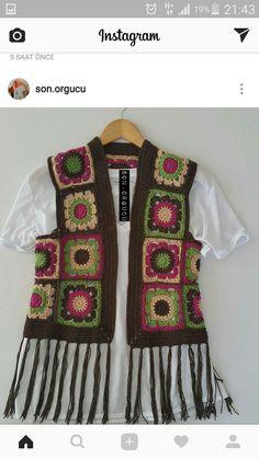 Hand knitting women& sweater - knitting and crocheting - # crochet # hand knitting . Hand Knitting Women& Sweater - Knitting and Crochet - . Knitting Pullover, Hand Knitting, Knitting Patterns, Knitting Sweaters, Crochet Jacket, Crochet Cardigan, Knit Crochet, Gilet Kimono, Diy Crafts Knitting