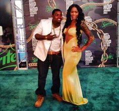 Lil Scrappy and Bambi at BET hip hop awards Black Celebrity Couples, Bet Hip Hop Awards, Where Is The Love, Love N Hip Hop, Black Celebrities, My Boo, Bambi, Relationship Goals, Hollywood