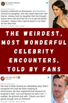 #Weirdest #Most #Wonderful #Celebrity #Encounters #Told #Fans Drugstore Setting Spray, Portable Outdoor Shower, Henry Vacuum, Cool New Gadgets, Wine Bottle Design, Pots And Pans Sets, Best Coffee Mugs, Amazon Beauty Products, Mom Jewelry