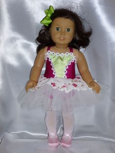 Garden Path Dance Costume for an 18 inch by DancinDollsDesigns, $29.00