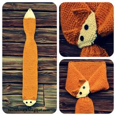 Santun Maja: fox scarf