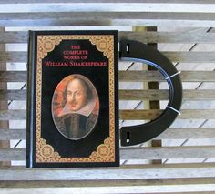 BOOK PURSE  The Complete Works of William Shakespeare by BookPurses on Etsy Great gift for the book lover.  #christmas #present #biblio #lovetoread