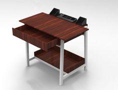 Stand up desk #proceso #industrialdesing #industrialdesingpuertorico #desing #desingEAP #wood #desk #furniture #render #basicrender #prototipo1 #productdesing by sr.ecuatorian