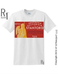 Best football gifts on Pinterest. http://www.shop.47straightposters.com/30-USC-VS-STANFORD-Football-Ticket-Shirt-30SCSTAN.htm