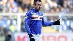 Cassano banned from Sampdoria dressing room