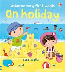 On holiday A charming and colourful picture wordbook with fifty holiday-related words. Scenes include getting ready to go, on the beach, on the campsite and picnic time. A book perfect for sharing or for a child to enjoy alone. Teaching Babies, Vocabulary Building, This Is A Book, Picnic Time, Going On Holiday, One Word, Colorful Pictures, Childrens Books, Playroom