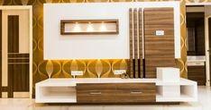 Residence project @ senthil nagar chennai by adorn Modern Tv Unit Designs, Wall Unit Designs, Modern Tv Wall Units, Living Room Tv Unit Designs, Tv Unit Interior Design, Tv Unit Furniture Design, Bedroom Furniture Design, Tv Cupboard Design, Tv Cabinet Design Modern
