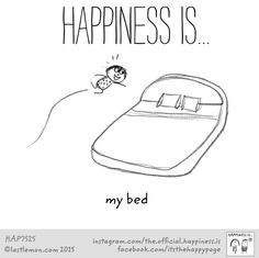 My bed!