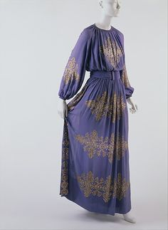 Dinner Dress Jeanne Lanvin, 1939 The Metropolitan Museum of Art