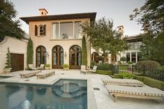 homes in mediterrean  | Mediterranean Home In The Memorial Park Section Of Houston, TX ...