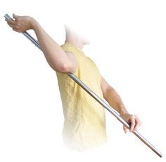 subscapularis stretch this does wonders for tight neck and shoulders!