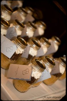 Carolina Inn s'mores cookie mix gift for wedding guests