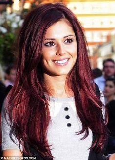 rouge cerise cheveux recherche google - Coloration Rouge Cerise