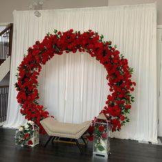 Haldi Ceremony, Wedding Ceremony, Wedding Day, Diy Wedding Decorations, Balloon Decorations, Floral Arch, Floral Wreath, Diy Videos, Wedding Supplies