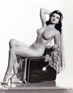 Sherry Britton #burlesque